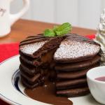 米粉と豆腐のチョコレートパンケーキ